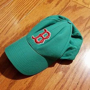 Men's green Boston Red Sox hat